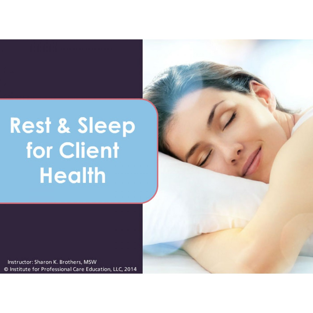 Rest and Sleep for Client Health | aQuire™ Training Solutions