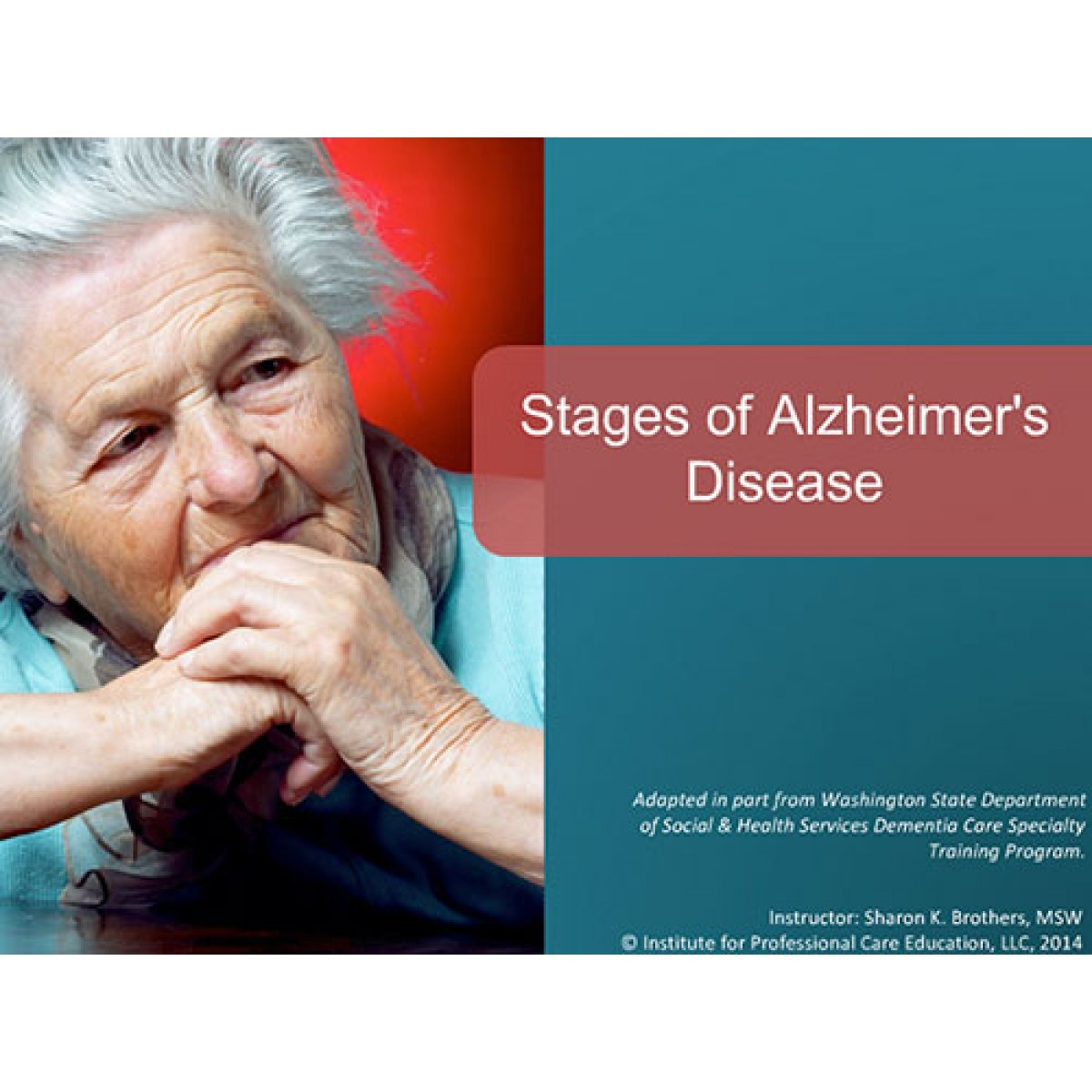 dementia alzheimer s disease and care Innovating the next generation of dementia and alzheimer's disease care interventions: addressing the needs of persons living with dementia, caregivers, and care.