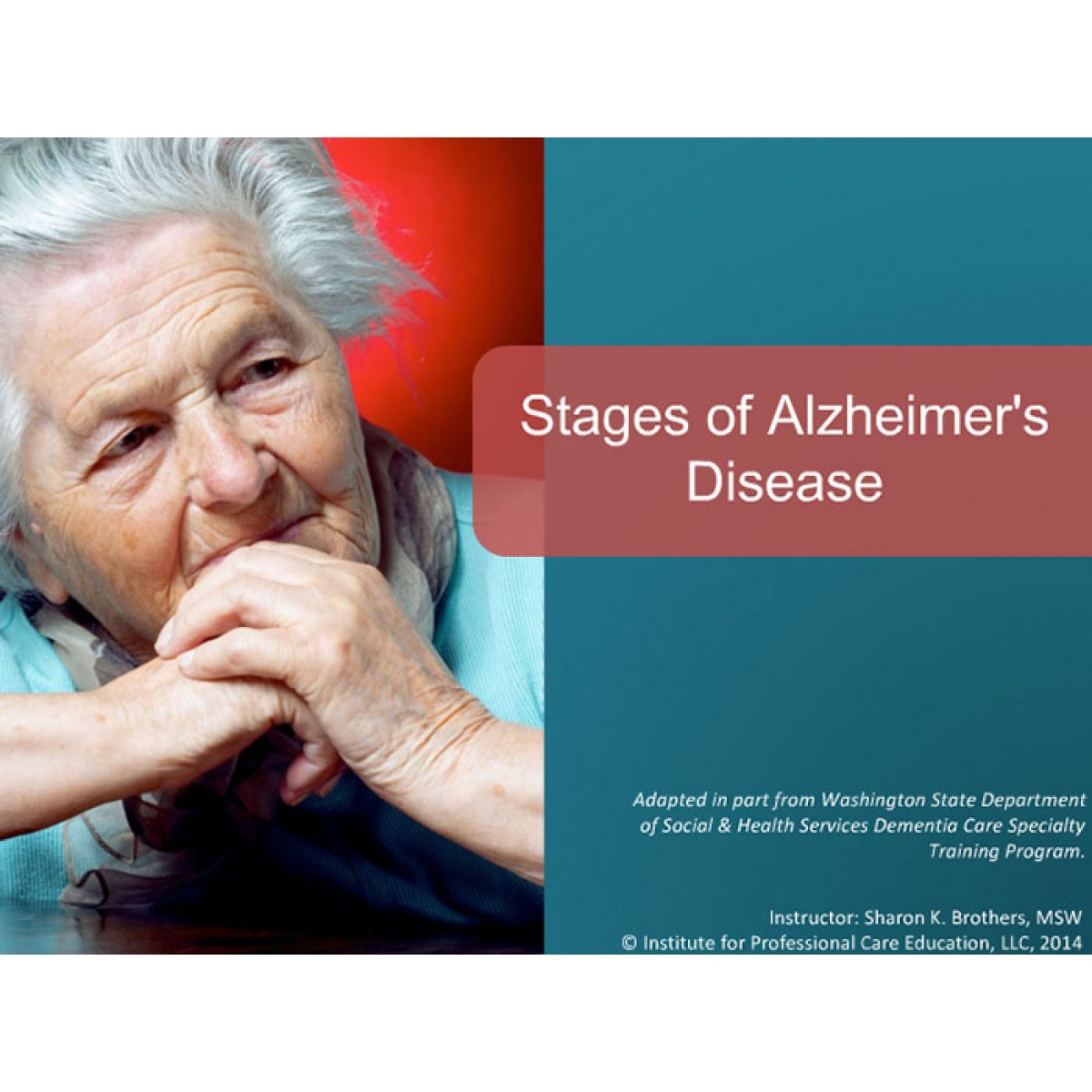 the alzheimer disease Did you know that every 66 seconds, someone in the united states will develop alzheimer's disease in fact, alzheimer's is the sixth leading cause of death in the.
