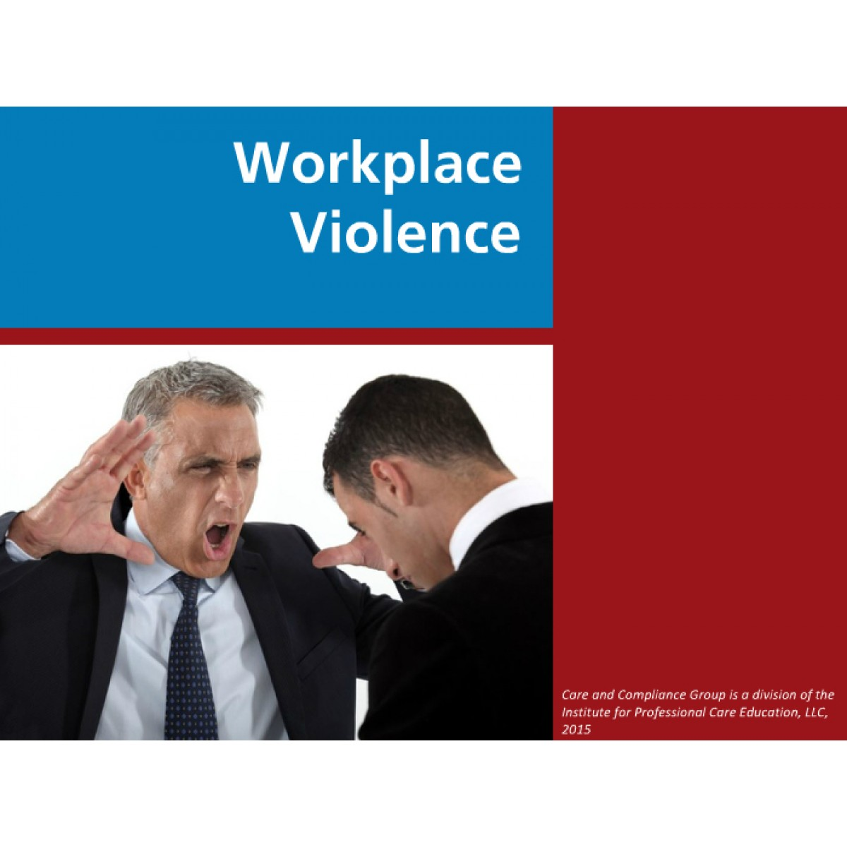 workplace violence in corporate america The workplace violence research institute estimated costs of workplace violence to us businesses at $36 billion per year neville says, costs include medical and psychiatric care, lost business and productivity, repairs and clean up, higher insurance rates, increased security costs, and worst of all, the loss of valued employees.