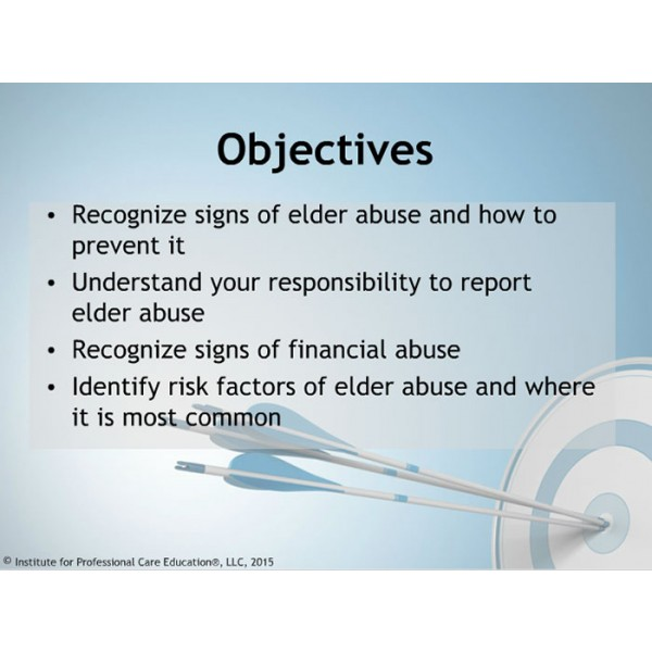 reporting elder abuse Reporting abuse every citizen has a responsibility to keep vulnerable older adults safe from harm to report suspected or known abuse, contact adult protective services (aps) in the state where the.