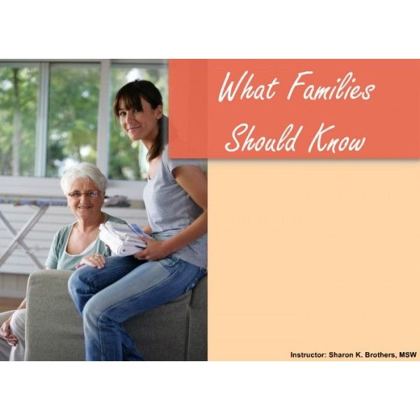 What families should know