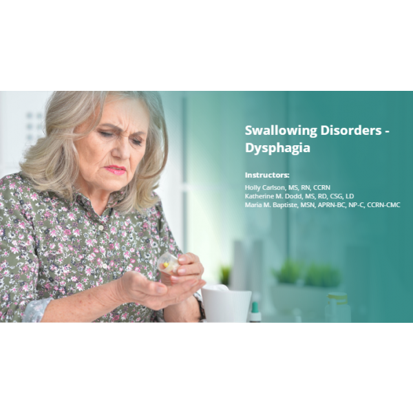Swallowing Disorders - Dysphagia