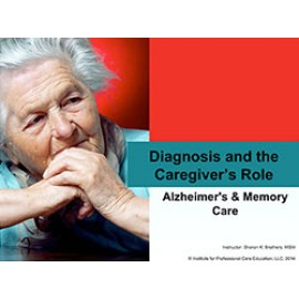 Diagnosis and the Caregiver's Role