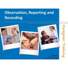 Observation, Reporting, and Recording