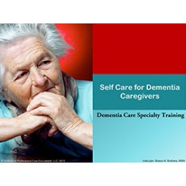 Self Care for Dementia Caregivers