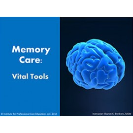 Alzheimer's and Memory Care: Vital Tools
