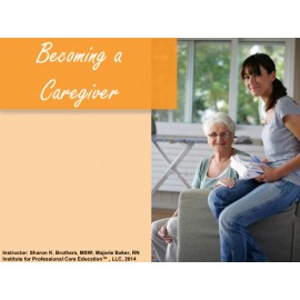 Becoming a Caregiver