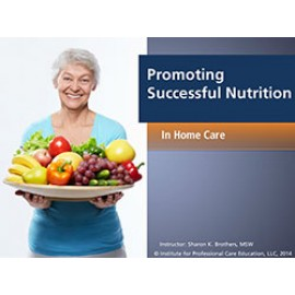 Promoting Successful Dining (Home Care)