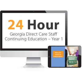 Georgia Direct Care Staff Continuing Education – Year 1