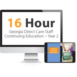 Georgia Direct Care Staff Continuing Education – Year 2