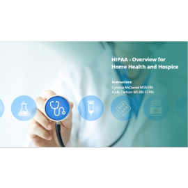 HIPAA - Overview for Assisted Living and Residential Care