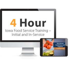 Iowa Food Service Training - Initial and In-Service