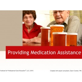 Providing Medication Assistance