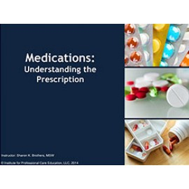 Understanding the Prescription