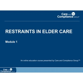 Restraints in Elder Care