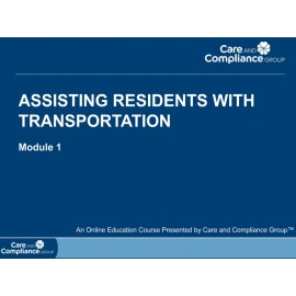 Assisting Residents with Transportation Online