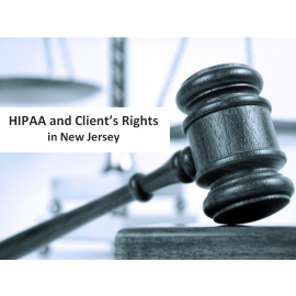 HIPAA and Client Rights in New Jersey