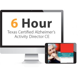 Texas Certified Alzheimer's Activity Director Continuing Education