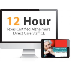 Texas Certified Alzheimer's Direct Care Staff Continuing Education