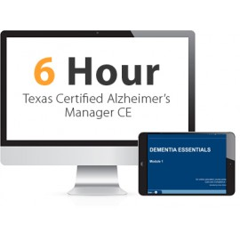 Texas Certified Alzheimer's Manager Continuing Education